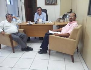 Luiz Omar Pinheiro, Fabiano Bastos e Josias Vera (Foto: Reprodução/Facebook)