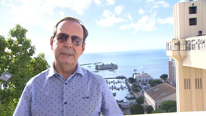 Arquiteto Chico Senna explica o desenvolvimento urbano de Salvador (Foto: TV Bahia)