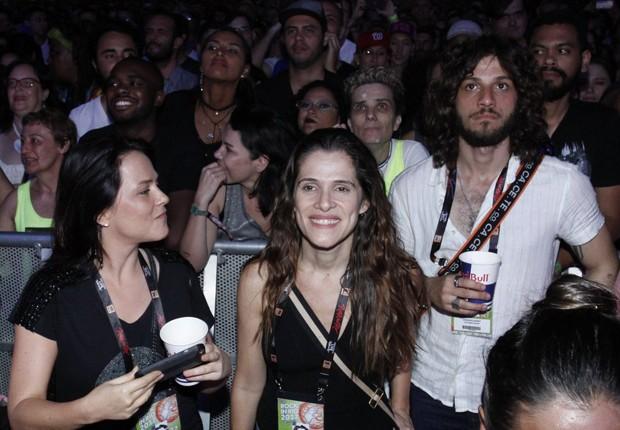 Vivianne Pasmanter, Ingrid Guimarães e Chay Suede (Foto: Marcos Ferreira/Brazil News)