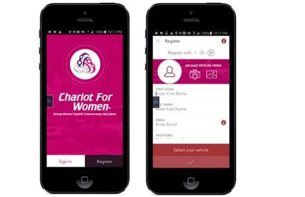 Chariot for Women funcionará como um 'Uber para mulheres'. (Foto: Divulgação/Chariot for Women)