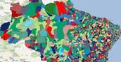 Veja os partidos de cada cidade (Saiba quais partidos vai governar cada cidade (Saiba qual partido vai governar cada cidade (Editoria de Arte/G1)))
