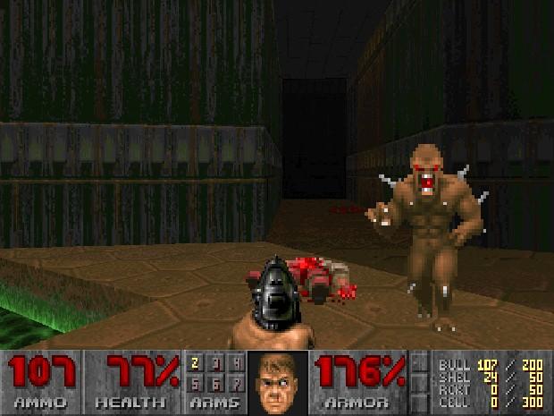 'Doom', de 1993, revolucionou o mercado de jogos pela violência gráfica (Foto: Reprodução)
