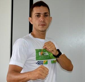 Atleta Walison da Silva (Foto: Quésia Melo)