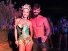 Laura Keller e Jorge Sousa curtem Carnaval após trabalho