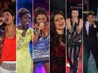 Juntos, seis ex-participantes do The Voice Brasil fazem show especial