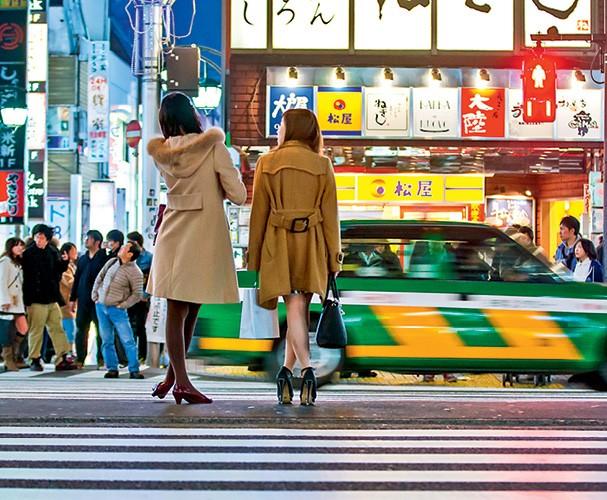 luz, câmera, Shinjuku (Foto: Getty Images)