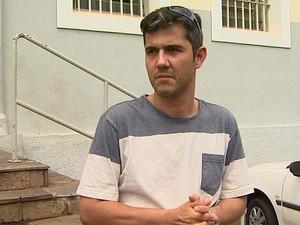 Pai de Joaquim pede que população ajude com informações sobre o paradeiro (Foto: Reprodução/EPTV)