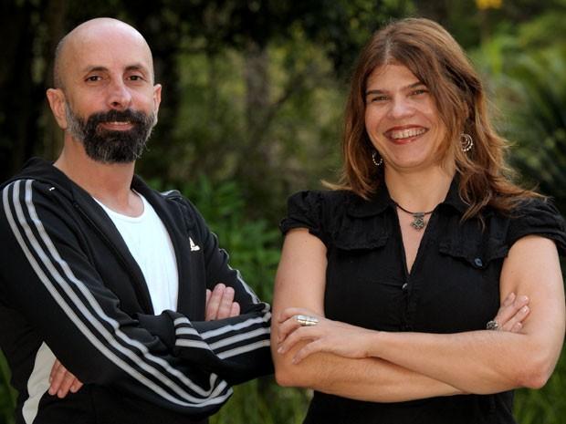 João Ximenes Braga e Cláudia Lage (Foto: João Cotta/TV Globo)