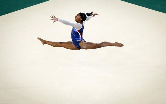 Simone Biles ginasta americana (Foto:  Ricardo Nogueira/EPOCA)
