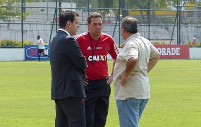 Luxemburgo treino Flamengo (Foto: Cahê Mota)