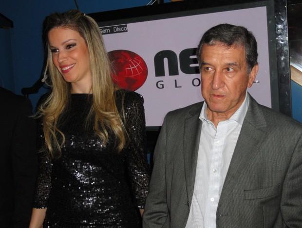 Carlos Alberto Parreira (Foto: Marcelo Baltar / Globoesporte)