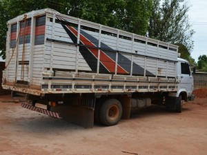 Caminhão está em outro endereço (Foto: Jonatas Boni/G1)