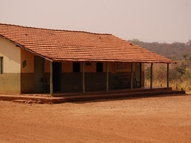 Escola da Comunidade quilombola Lagoa da Pedra, em Arraias (TO) (Foto: Suzane Mattos/Divulgação)