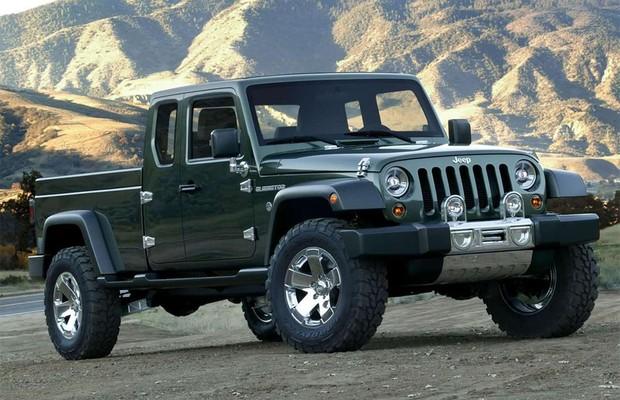 Jeep confirma que picape do Wrangler será lançada em 2018