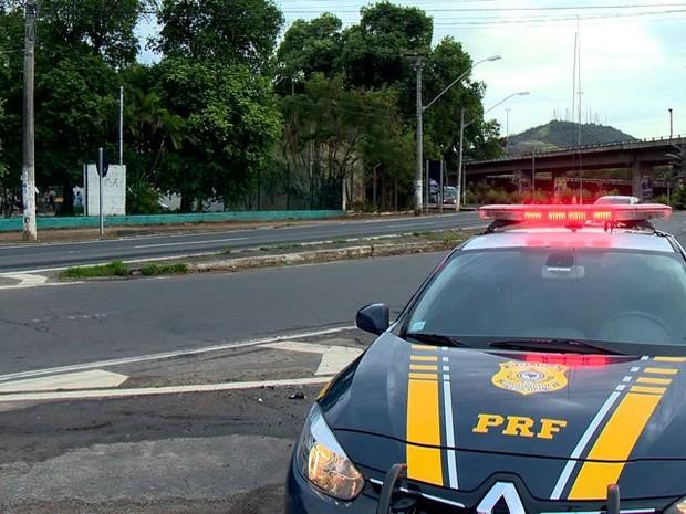 PRF vai reeceber reforço de policiais de outros estado do Brasil (Foto: Reprodução/ TV Gazeta)