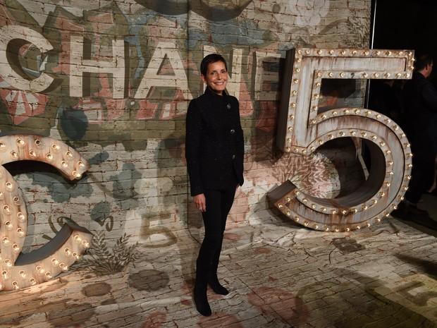 Imagem de arquivo de Maureen Chiquet, que deixou o posto de CEO da Chanel nesta quarta-feira (27) (Foto: TIMOTHY A. CLARY/AFP)