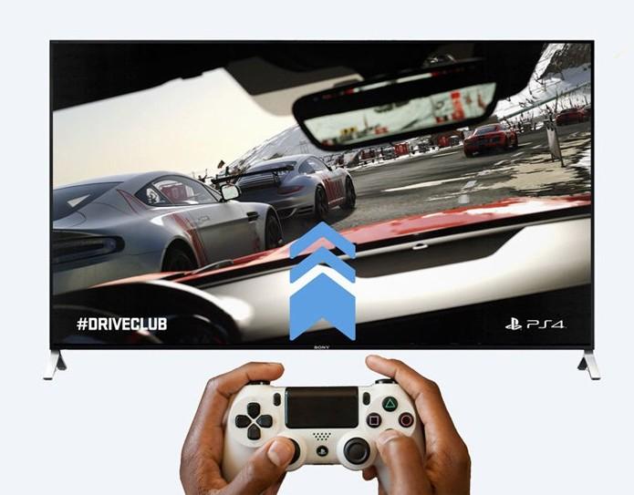 A Sony conta com a linha BRAVIA como opção para gamers (Foto: Reprodução/Sony)