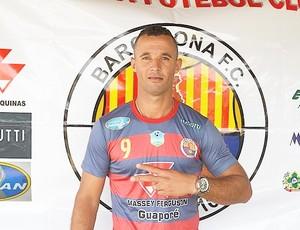 Atacante Cabixi assina contratado com Barcelona de Vilhena  (Foto: Barcelona/ Divulgação )