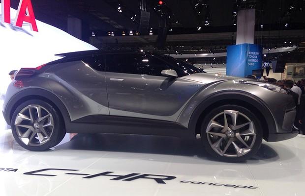 Conceito Toyota C-HR no Salão de Frankfurt 2015 (Foto: Divulgação)