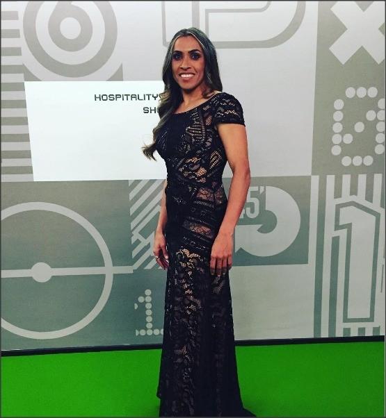 O vestido de Marta: dois meses para ficar pronto (Foto: Divulgação)
