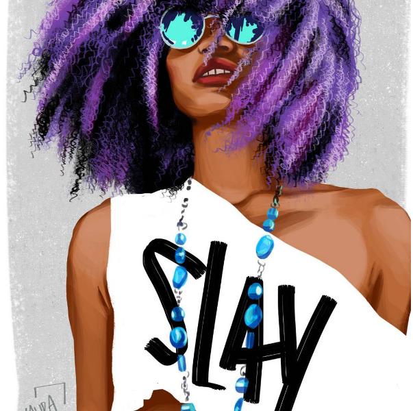 Ilustração de Laura Athayde (Foto: Reprodução/Instagram)
