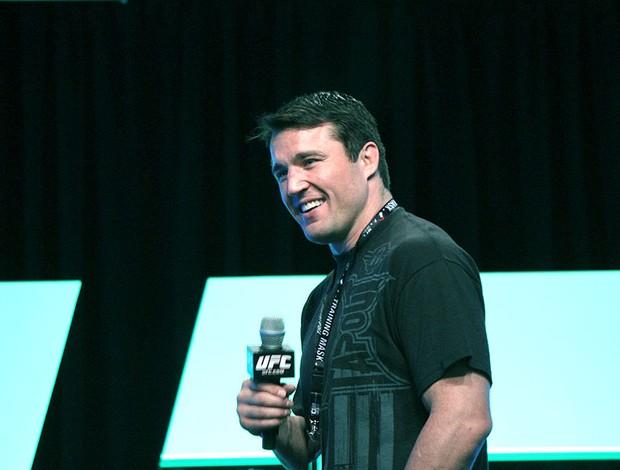 UFC Chael Sonnen Q&A (Foto: Evelyn Rodrigues)