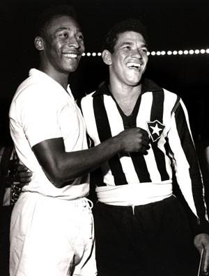 Garrincha e Pele  (Foto: Getty Images)