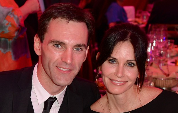Courteney Cox e Johnny McDaid. (Foto: Getty Images)