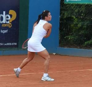 Elen Zavitoski, tenista Mato-grossense (Foto: Assessoria/FMTT)