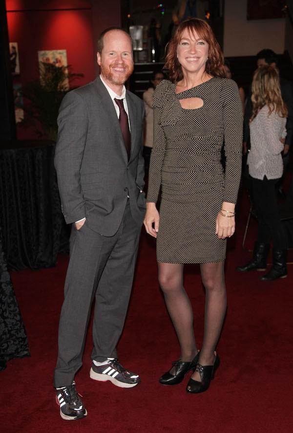 O diretor Joss Whedon com a ex-esposa, a arquiteta Kai Cole (Foto: Getty Images)