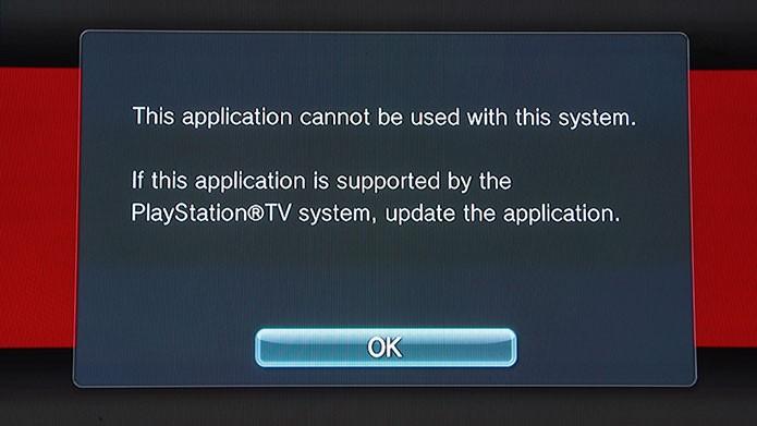 Netflix e Hulu Plus não são aplicativos compatíveis com o PlayStation TV (Foto: Tais Carvalho/TechTudo)