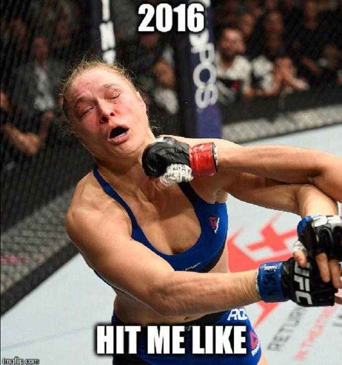 Amanda Ronda UFC 207 (Foto: Reprodução/Twitter)