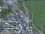 Goiana - 16h: Protesto bloqueia trânsito na rodovia PE-49