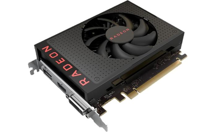 Radeon RX 460 traz poder gráfico por um preço mais em conta (Foto: Divulgação/AMD) (Foto: Radeon RX 460 traz poder gráfico por um preço mais em conta (Foto: Divulgação/AMD))
