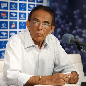 Benecy Queiroz, supervisor de futebol do Cruzeiro (Foto: Washington Alves / Light Press)