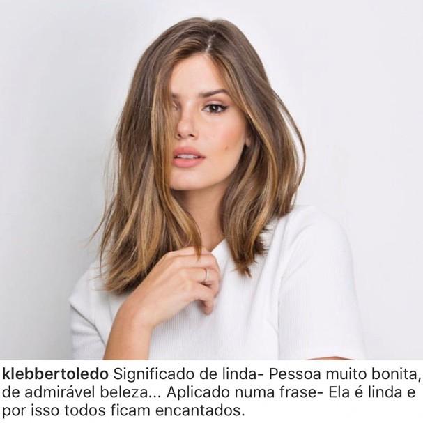 Foto de Camila Queiroz no Instagram (Foto: Reprodução/Instagram)
