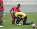 Na Baixada, Atlético-PR faz o último treino antes de enfrentar o Millonarios