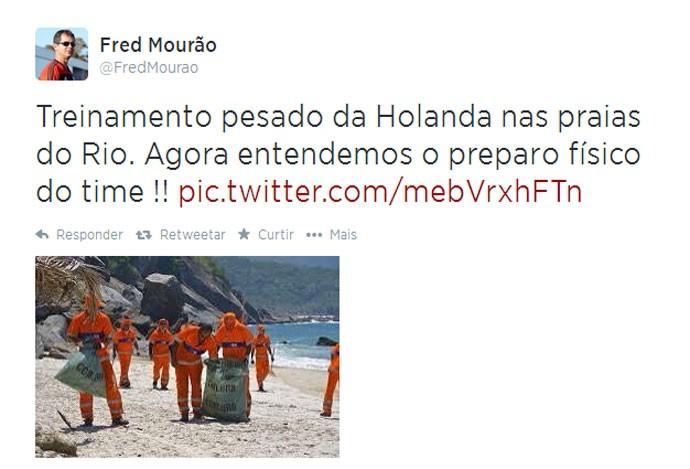 Twitter gerente de marketing do flamengo (Foto: Reprodução / Twitter)