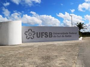 Campus de Porto Seguro da Universidade Federal do Sul da Bahia (Foto:  Divulgação/ UFSB)