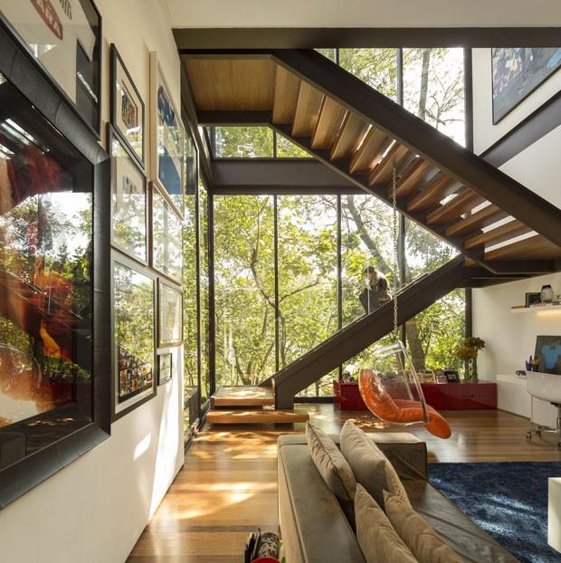 Morada funde arte design e natureza casa vogue casas - Maison contemporaine exotique fernanda marques ...