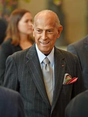 Óscar de la Renta, em imagem de maio de 2014. (Foto: Arquivo / AFP Photo)