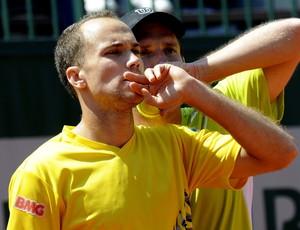 Tênis Bruno Soares e Peya Roland garros (Foto: Agência EFE)