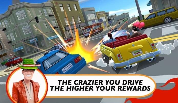 Crazy Taxi: City Rush é o destaque da semana (Foto: Divulgação)