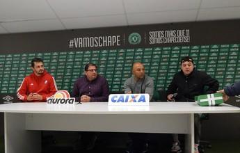Guto agradece passagem pela Chape e diz que novo desafio pesou na saída