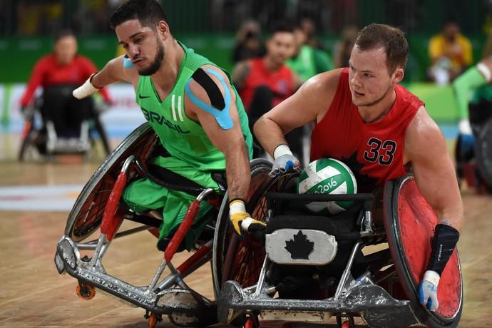 Rugby Brasil x Canadá Paralimpíada Rio 2016 (Foto: André Durão)