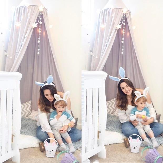 Fernanda Machado e filho (Foto: Reprodução/Instagram)
