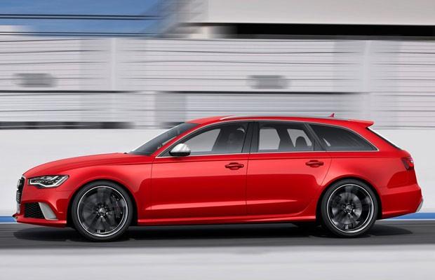 Audi RS 6 Avant leva rodas de 21 polegadas (Foto: Divulgação)