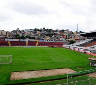 Estádio Jayme Cintra, em Jundiaí (Foto: Rodrigo Villalba / Memory Press)