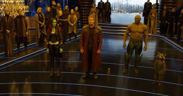 Uma cena de Guardiões da Galáxia Vol. 2 (Foto: Divulgação)