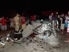 Duas pessoas morrem após acidente entre veículos na região Oeste do RN